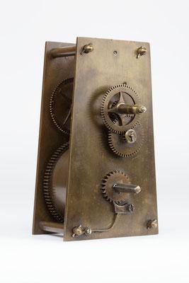 Vorderansicht - 8 Tage Uhrwerk von Samuel Kammerer Furtwangen (Schwarzwald) um 1865