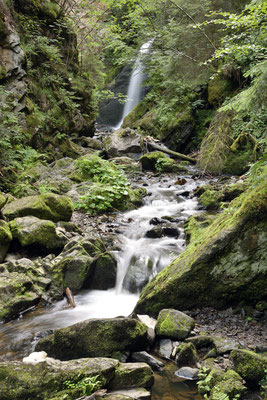 Ravennawasserfall Schwarzwald