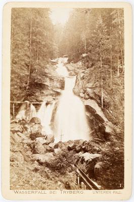 Triberger Wasserfall, Foto um 1880