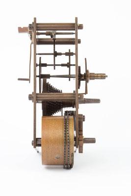 Seitenansicht von links,  Winterhalder & Hofmeier Dial Clock