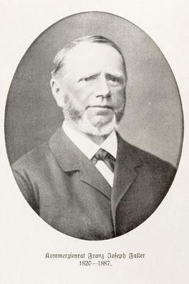 Kommerzienrat Franz Joseph Faller 1820-1887 (Abbildung aus Quelle 1, S. 85)
