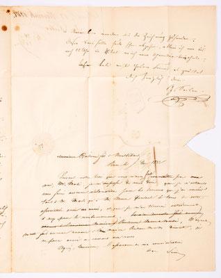 17. November 1837, Brief von I. Seiler (Bern) an Samuel Marti (Montbéliard), Inhalt 3