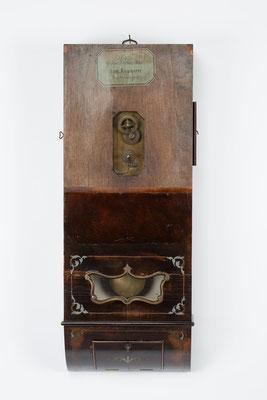 Uhrenkasten ohne Zifferblatt, Samuel Kammerer Furtwangen (Schwarzwald) um 1865