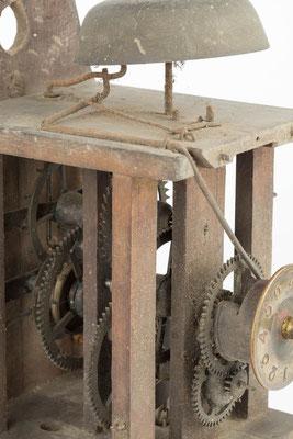 postman's alarm clock, Detail Weckerauslösung