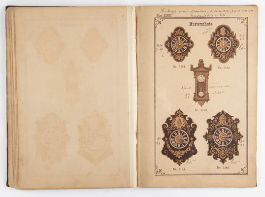 Kuckucksuhr Katalog um 1890, Schwarzwald Seite 27