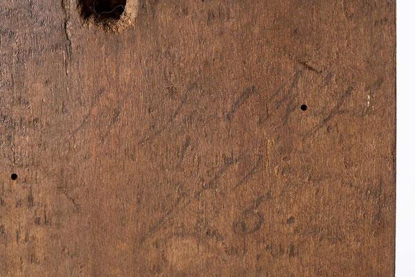 Signatur des Uhrmachers