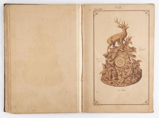 Kuckucksuhr Katalog um 1890, Schwarzwald Seite 26