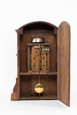 Blick in das Uhrengehäuse, Bracket Clock, Matthä Winterhalder