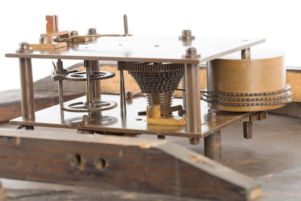 Detailfoto Uhrwerk,  Winterhalder & Hofmeier Dial Clock