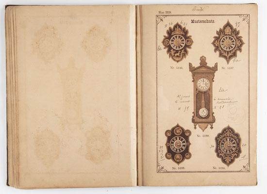 Kuckucksuhr Katalog um 1890, Schwarzwald Seite 28