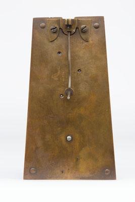 Rückseite - 8 Tage Uhrwerk von Samuel Kammerer Furtwangen (Schwarzwald) um 1865