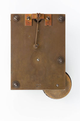 Rückseite des Uhrwerkes,  Winterhalder & Hofmeier Dial Clock