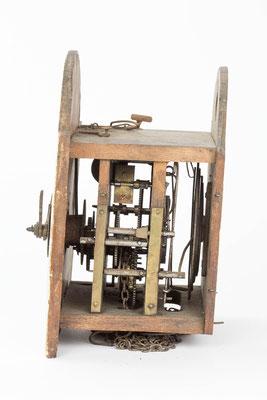 Schottenuhr von Fürderer Jaegler & Cie, Seitenansicht von rechts