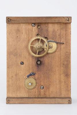 Vorderansicht des Uhrwerks (Mathä Winterhalder aus Friedenweiler)