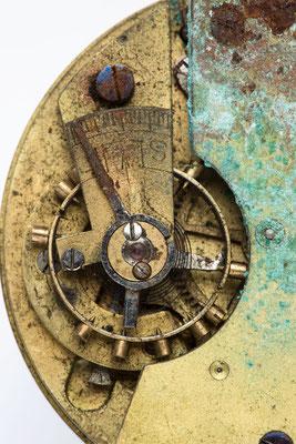 Detailaufnahme, Taschenuhrwerk