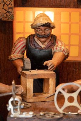 Schwarzwälder Uhrmacherwerkstatt: Gestellmacher