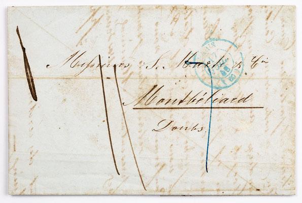 17. Juli 1846, Brief von S. Marti (Paris) an S. Marti & Cie. (Montbéliard)