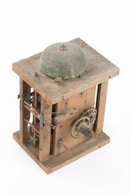 Schwarzwälder Uhrwerk von Benedikt Dorer, Zustand vor der Restaurierung