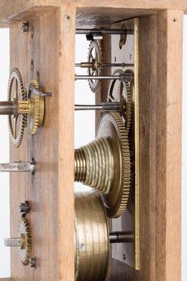 Detail des Räderwerkes