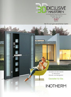 Inotherm Exclusive 3 D Haustür Prospekt