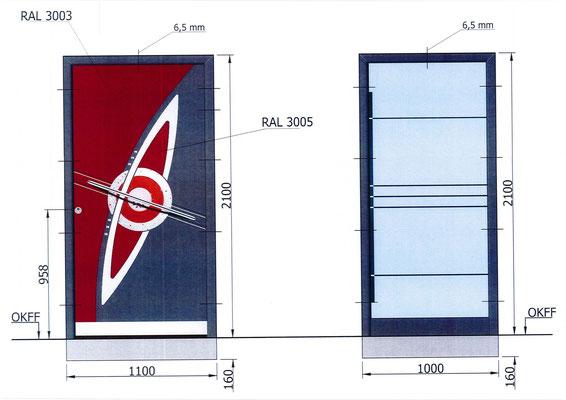 Inotherm Haustür AAE 1201 plus Planung