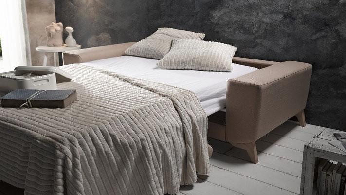 Sofa cómodo para apartamentos.