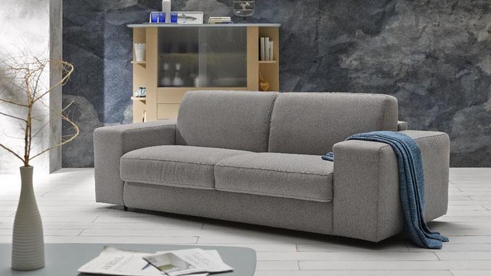 Sofa de dos plazas para apartamentos.