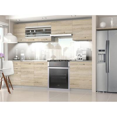 Cocina de apartamento, fabricada por Tu hotel contract.