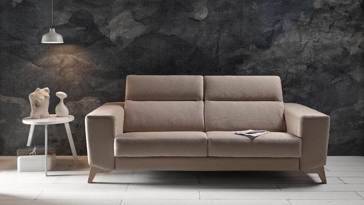 Sofa de diseño para apartamentos.