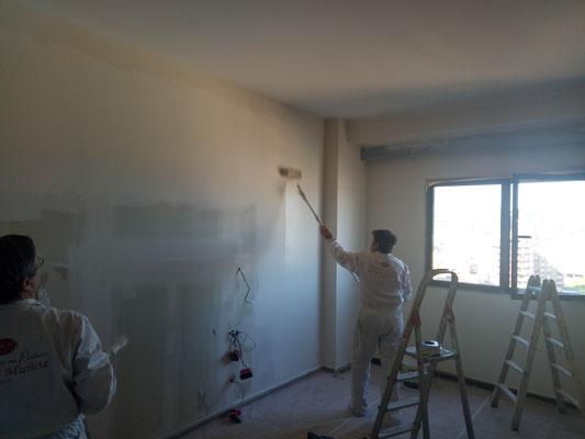 Pintura habitacion hotel