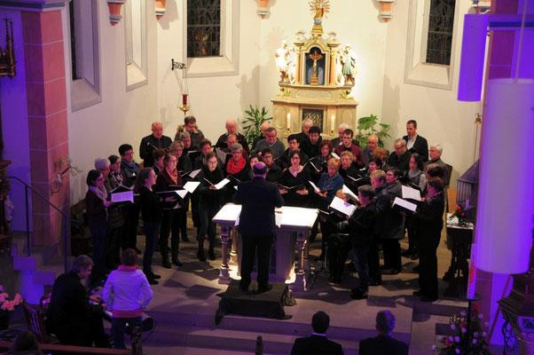 Konzert für die Liebe, 13.02.2016, Kirchenchor Waldrach