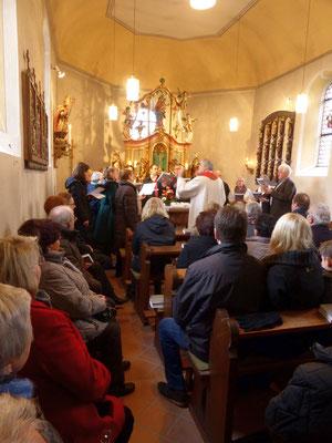 Festhochamt in der Korlinger Kapelle St. Valentin, 14.02.2016