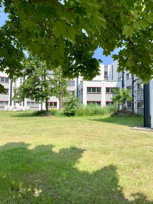 Pausenfläche Büro Q48 Cottbus