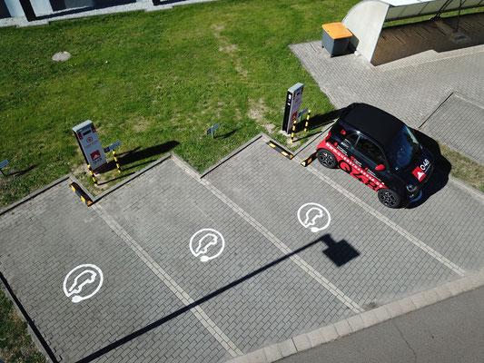Büro Ladestationen für E Fahrzeuge in Cottbus Q48