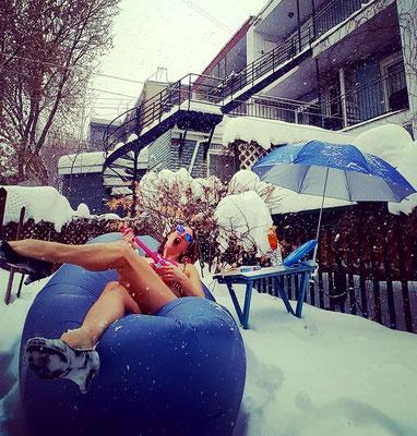 #snowbird #timeofmylife #californiadreamin