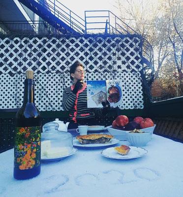 #Newyorkerinmontreal #tableforone #Thanksgiving2020