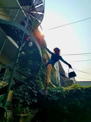 #spiderwoman #pumas #purse #longsleevedleotard #dancebelt #goggles