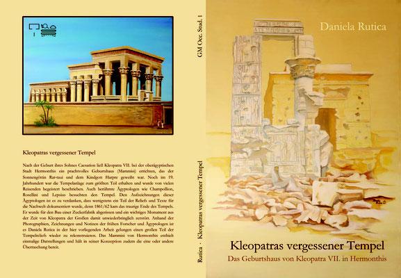 Coverbild: Kleopatras vergessener Tempel, Malerei von Daniela Rutica