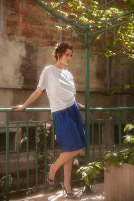 Louise : blouse petites ailes - Collection Romantic - Jeanne Berre
