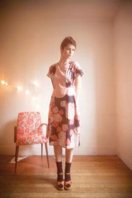 Garance : robe 100% coton - Collection Romantic - Jeanne Berre