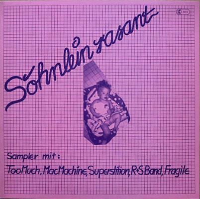 """PlattenCover Sampler """"Söhnlein Rasant"""","""
