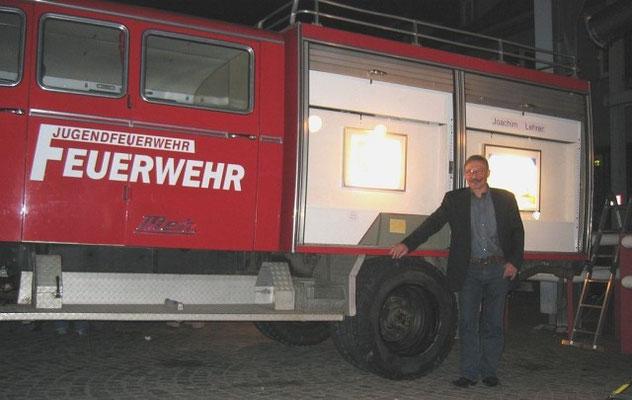 Ausstellungsfeuerwährwagen von Johachin Lehrer