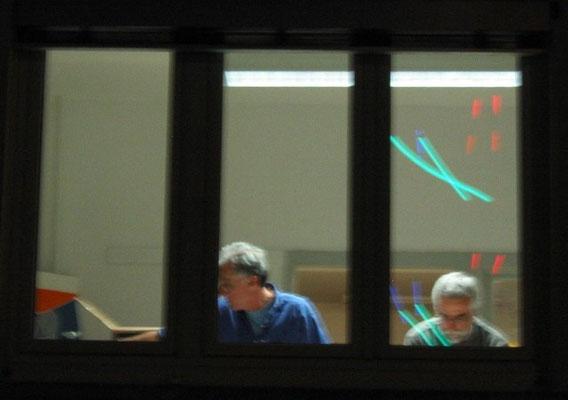 Vom Turm aus: Atelier D. Löchle mit Tillman Rösch
