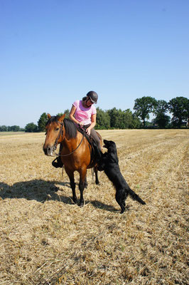 September 2015 Best friends Maya und Fanny