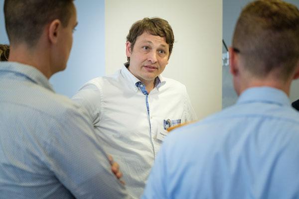 Fabian ist einer der kommunikativen Treiber in unserer Projektgruppe.