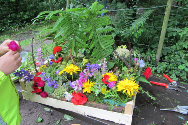 Gartenmodell Foto: Miriam Kodek