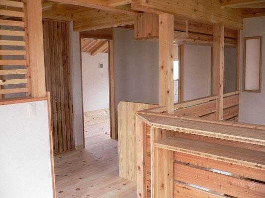 2階の勉強用オープンスペース