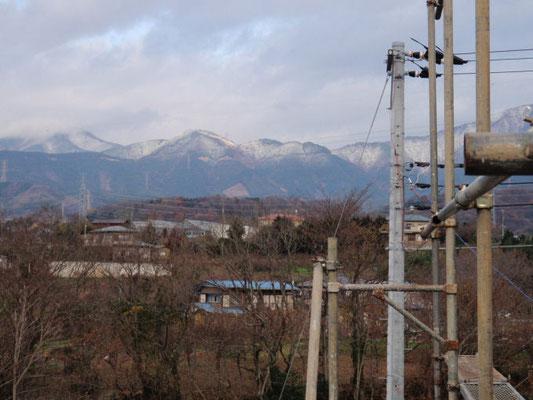 丹沢の雪景色