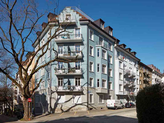 Mehrfamilienhaus Schindlerstrasse, Zürich