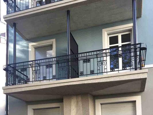 Balkonsanierung Schindlerstrasse, Zürich